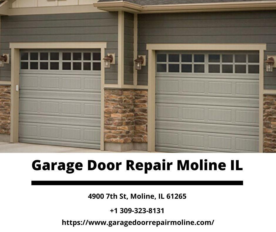 Garage Door Repair Moline Il Is Specialized In All Types Of Garage Doors Repair And Installation Services Our Experts Garage Door Installation Garage Doors Garage Door Opener Installation