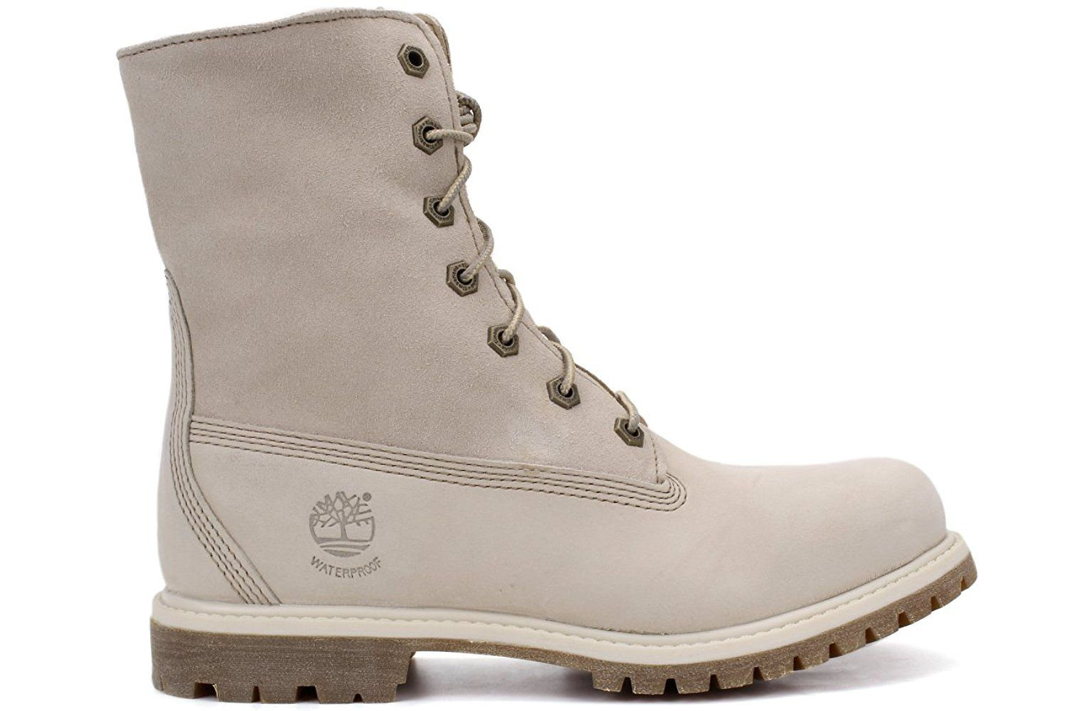 premium selection 42c2a 15f65 Timberland Women s Authentics Waterproof Fold-Down Teddy Fleece Boots  White, 7     To view further for this item, visit the image link.
