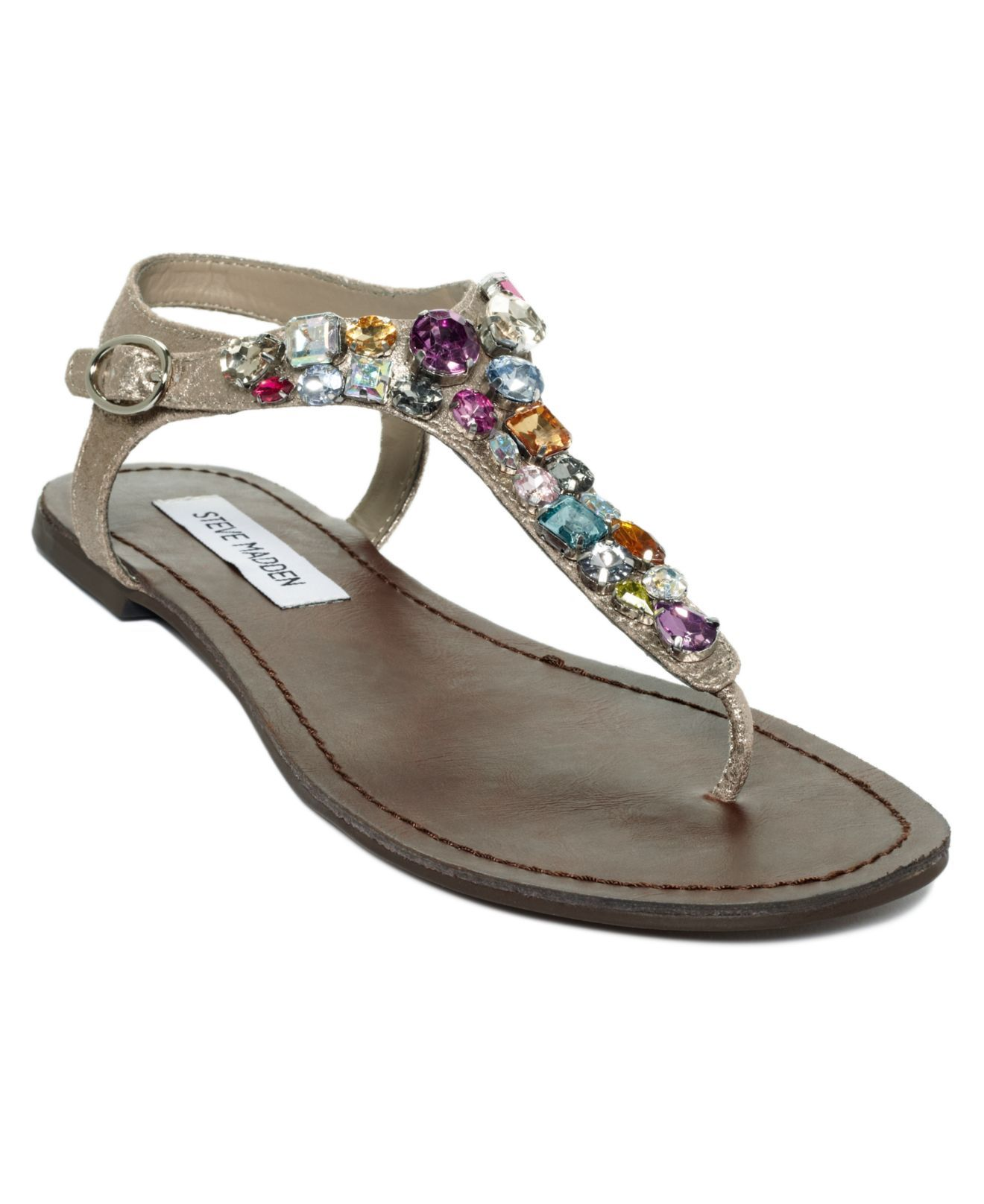 Steve madden shoes, Jeweled sandals