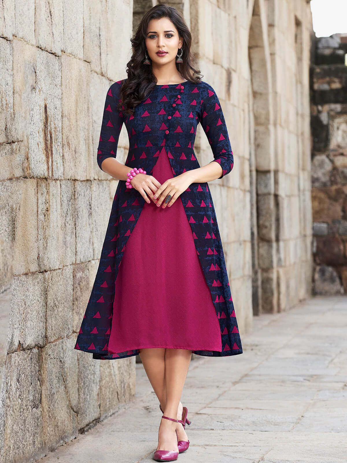 Normal Kurtis With Images Dress Neck Designs Frock For Women