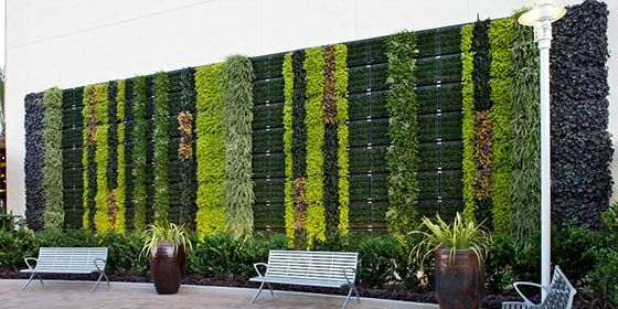 Tournesol VGM Modular Living Wall Details Green Walls / Living