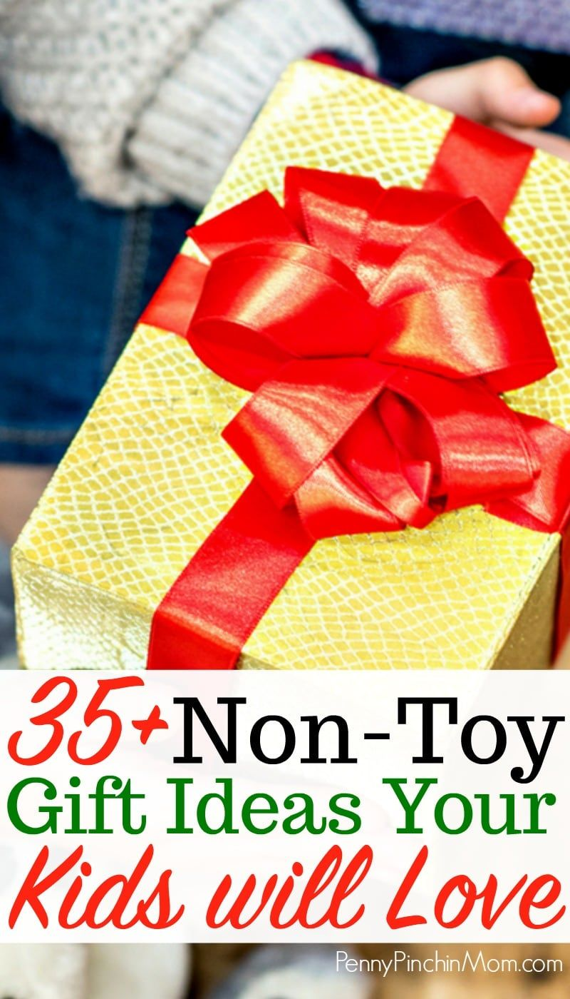 Awesome List Of Non Toy Gift Ideas For Kids Christmas Birthdays