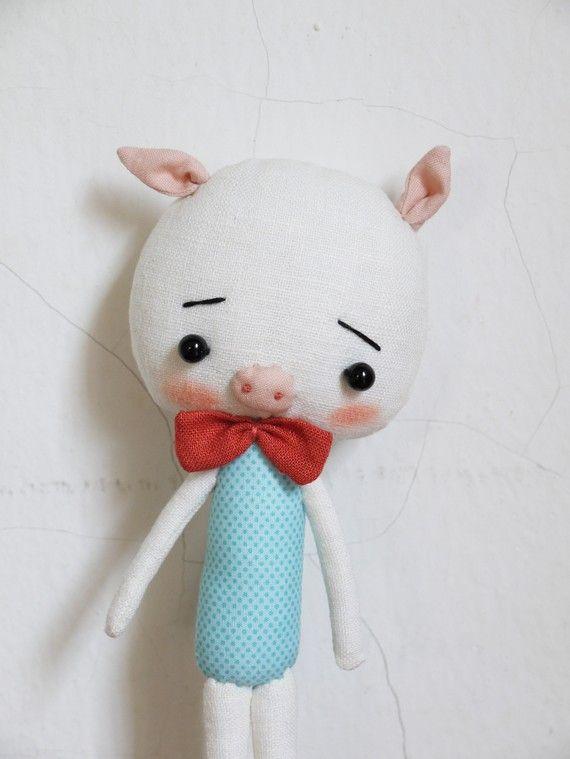Little piglet | Stofftiere, Kuscheltiere und Schweinchen