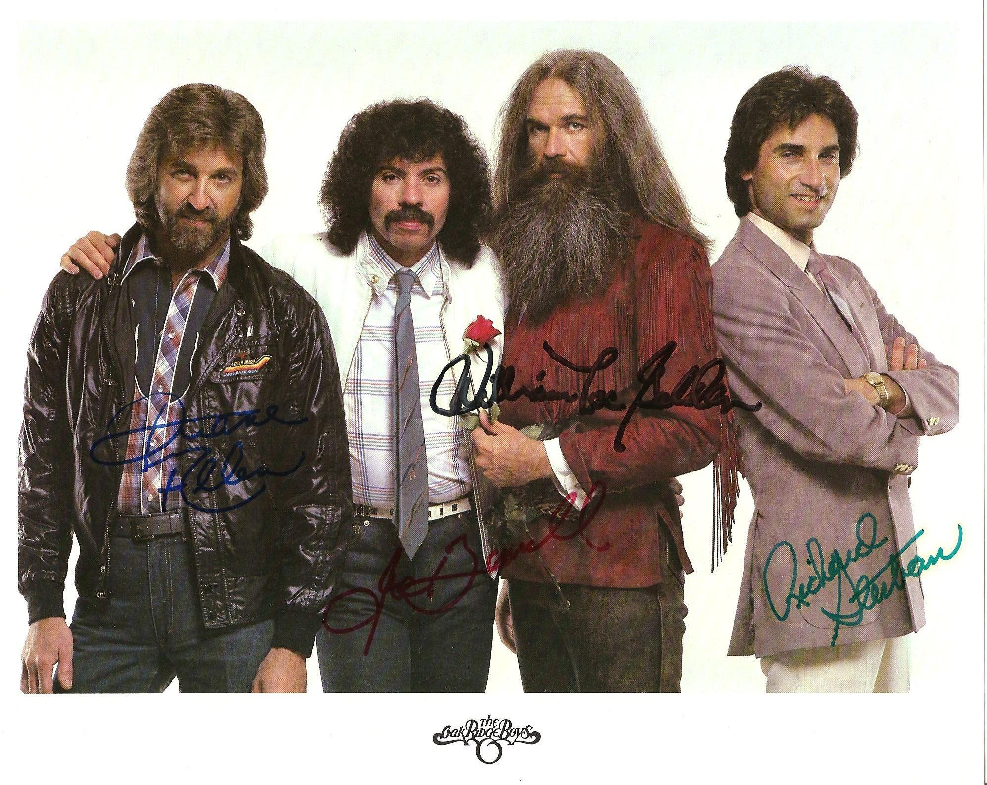 Oak Ridge Boys. 80\'s era...Cheyenne Frontier Days. | MY HALL OF FAME ...