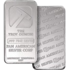 Silver Bar 10 Oz Silver Bullion Bars Also Referred To As Ingots Range In Weight Between 1 And 1 000 Ounces Th Gold Bullion Bars Silver Bars Silver Bullion