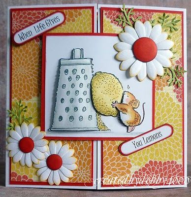 A Scrapjourney: Penny Black I love her style of card making.