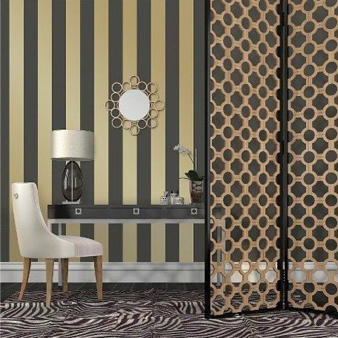 31 Home Decor Products From Target That Only Look Expensive Stripe Removable Wallpaper Striped Temporary Wallpaper Removable Wallpaper