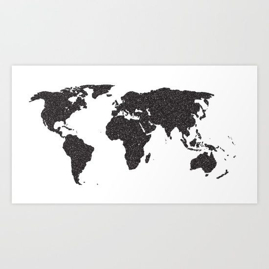 A map of the world in black and white map world earth global world map stencil gumiabroncs Image collections
