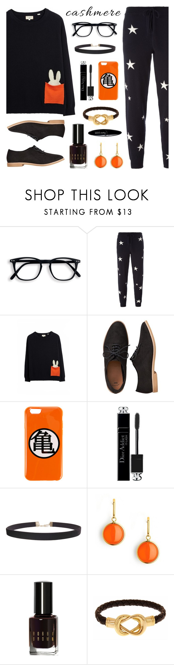 """""""Cozy Cashmere Sweater"""" by lgb321 ❤ liked on Polyvore featuring Chinti and Parker, Gap, Christian Dior, Humble Chic, Syna, Bobbi Brown Cosmetics, Fornash, Maybelline and cashmere"""
