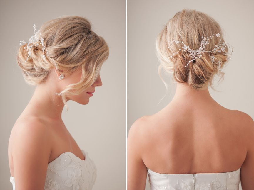 Phenomenal 1000 Images About Bridal Hair Tutorial On Pinterest Models Short Hairstyles Gunalazisus