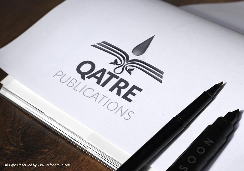 Qatre Publication Logo Design Logo Design Logos Company Logo