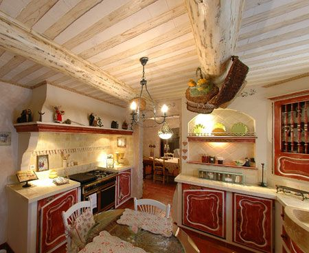 Cuisine provençale en construction neuve | meubles provençale ...