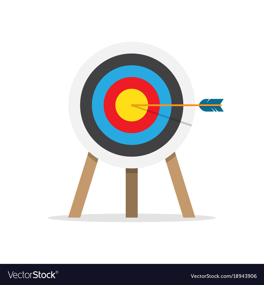 Bullseye Symbol Royalty Free Vector Image Image Symbols Vector Free Symbols