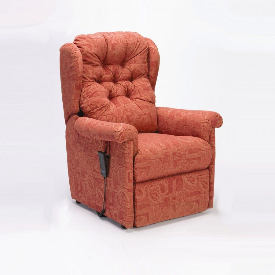 Restwell Seattle Rise And Recline Terracotta 900x900 With Images Recliner Recliner Chair
