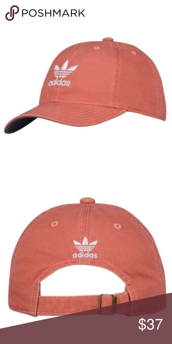 c045d2936d0 🌺Coral Salmon Peach🌺 Adidas Strapback Hat NWT. Adjustable to fit all  sizes. 🚫PRICE FIRM UNLESS BUNDLE🚫 adidas Accessories Hats