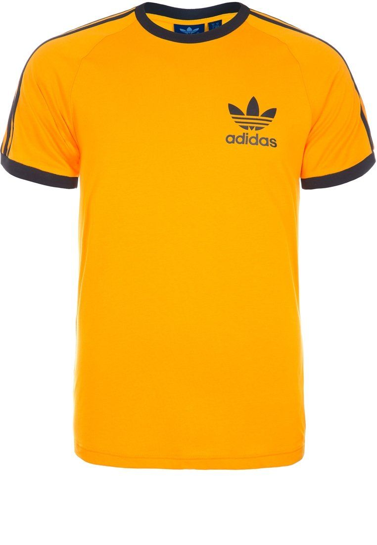 adidas Originals SPORT ESSENTIAL - T-Shirt basic - yellow - Zalando.de