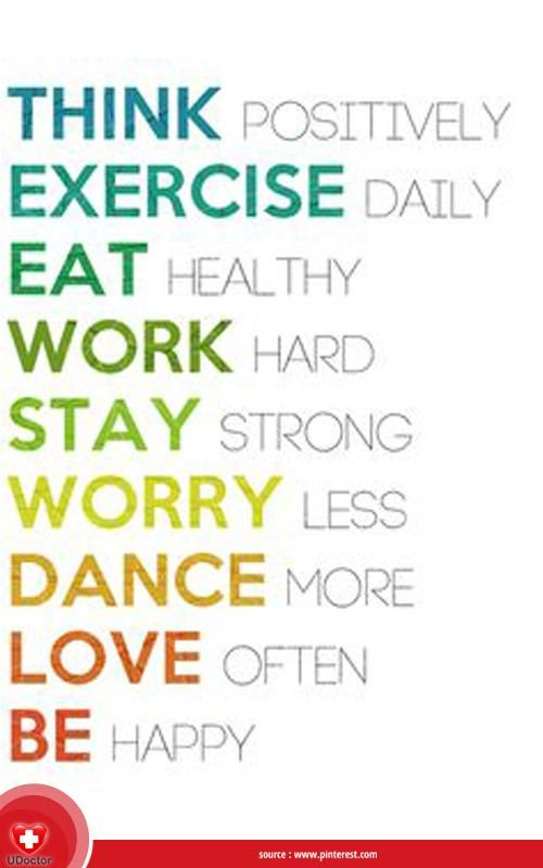 keep calm and happy friday tetap pegang teguh prinsip hidup sehat