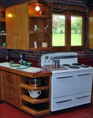 Original Frank Lloyd Wright Kitchens
