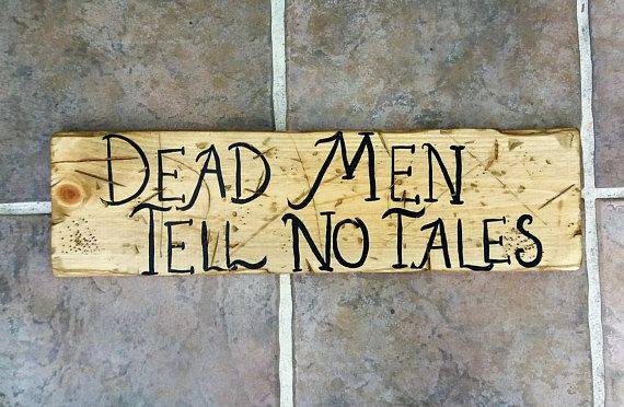 Rustic Wood Pirate Sign, Distressed, Handcrafted, Wall Decor ...