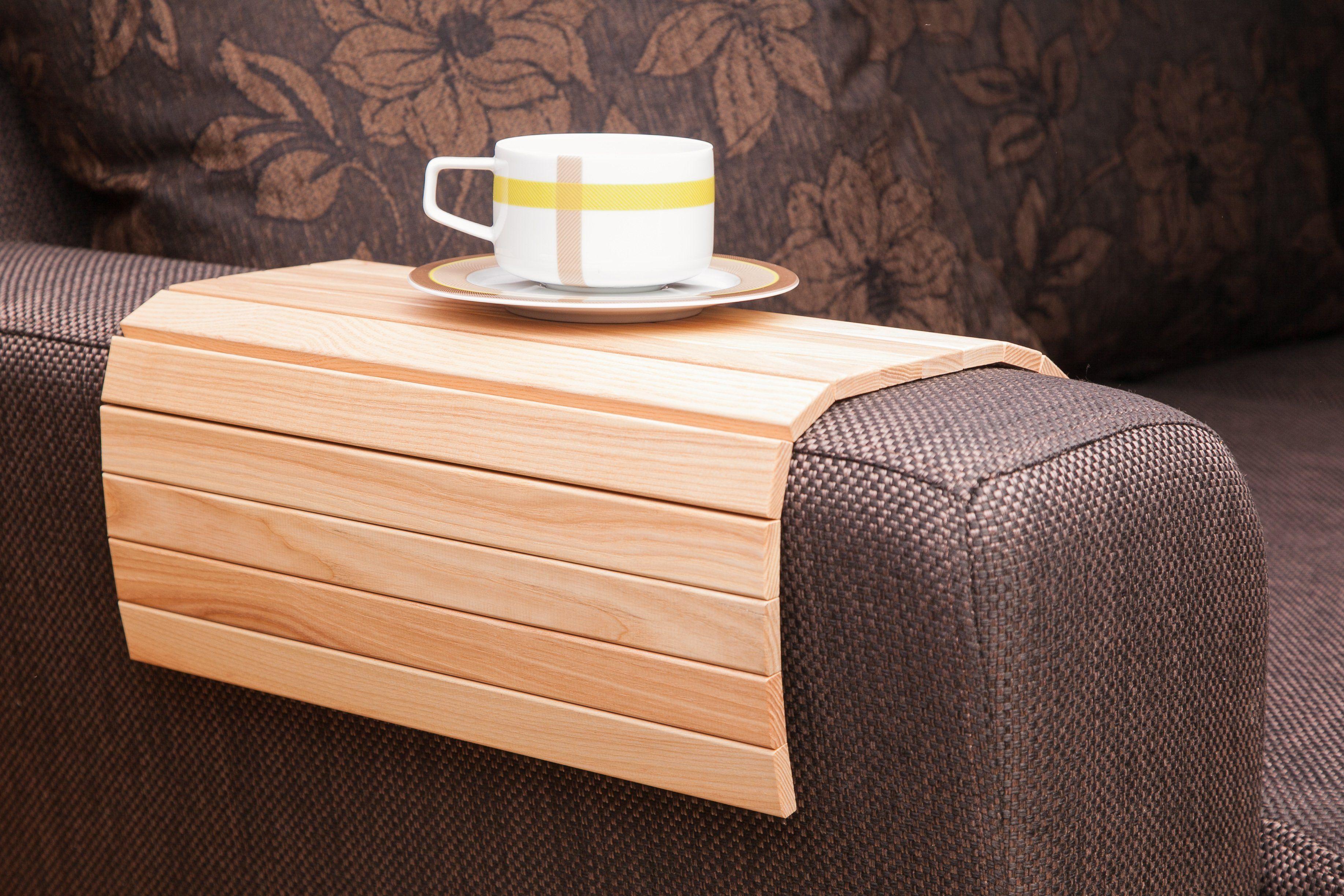 Fancy Handmade Natural Wood Sofa Tray Table Natural Sofas Tray Table Oak Sofa