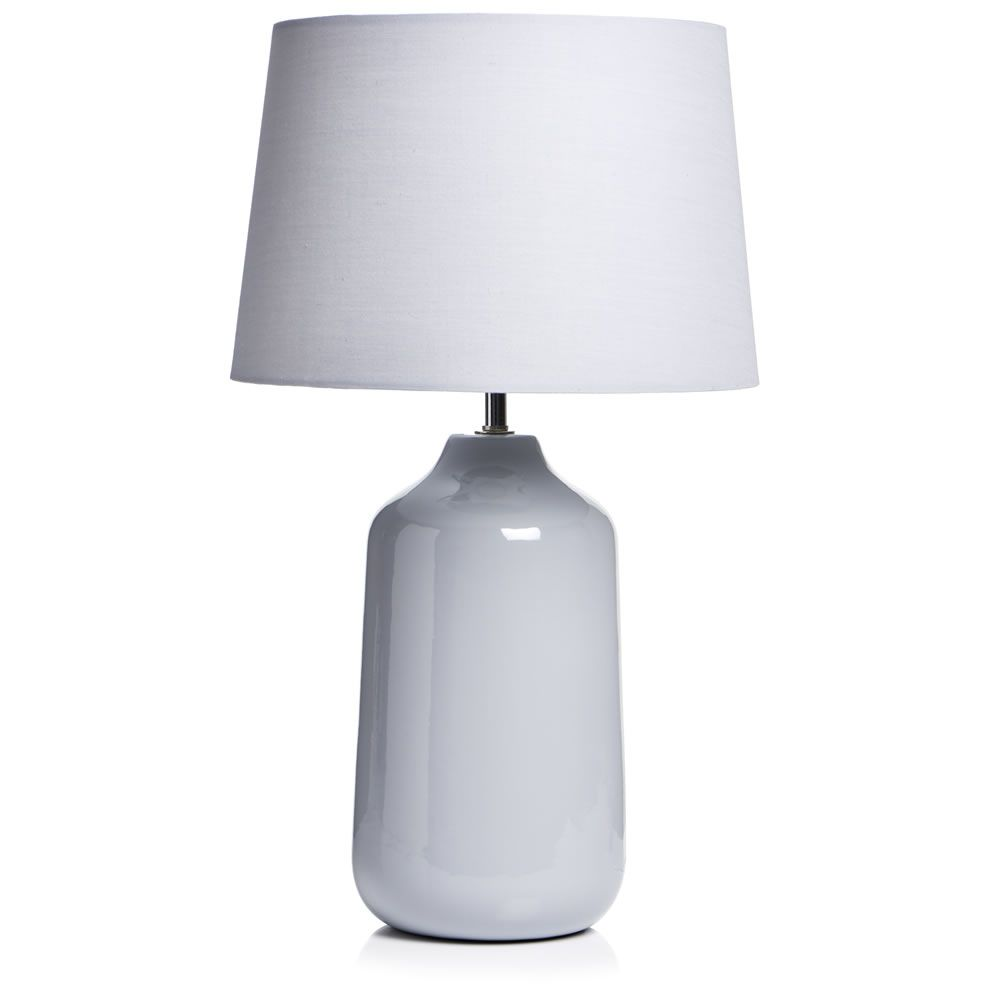 Wilko bottle table lamp grey decore pinterest bedrooms living wilko bottle table lamp grey aloadofball Choice Image