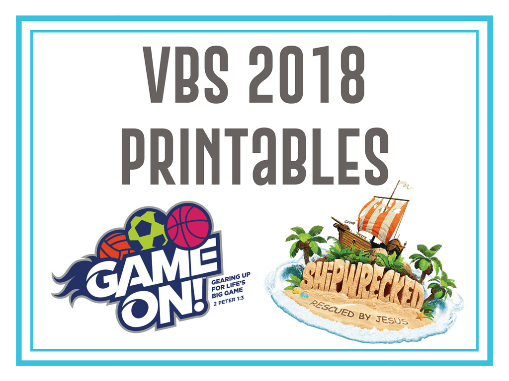 Free Printables For Game On Vbs And Shipwrecked Vbs
