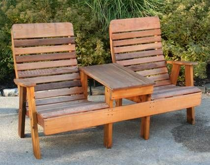 Double Chair Wooden Lawn Chairs Buy Patio Furniture Outdoor