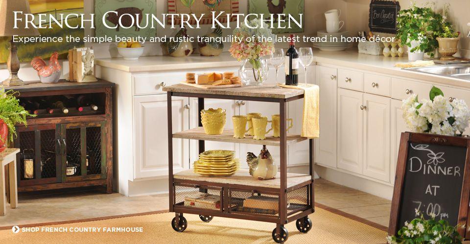 French Country Kitchen - Kitchen Decorating Ideas - Trendy Kitchen Decor