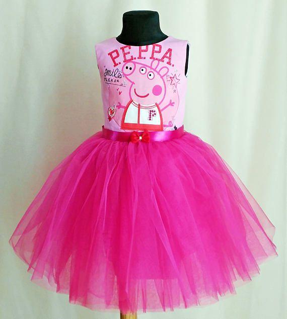 soft pink peppa pig birthday dress peppa pig tutu outfit