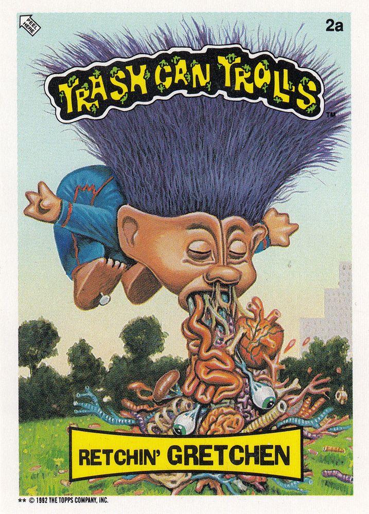 Trash Can Trolls 2a Retchin Gretchen