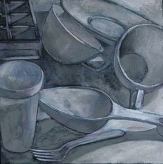 drawing still life cooking supplies - Google Search