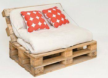Mueble Hecho Con Palets Decoraciones Pinterest Muebles - Muebles-hechos-con-estibas