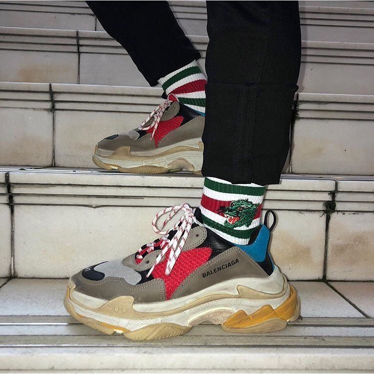 BALENCiAGA TRiPLE S Available online and in stores