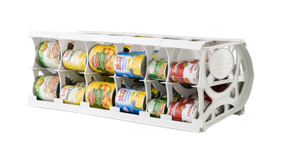 Cansolidator Pantry Plus Rotating Can Storage In The