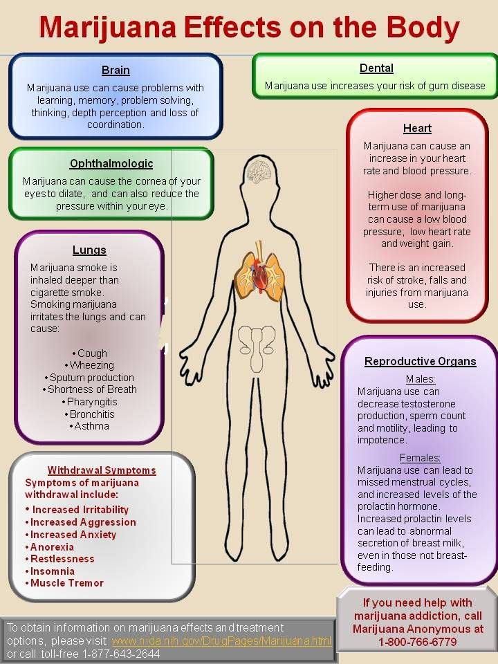 False Marijuana Effects on the Body National Institutes of