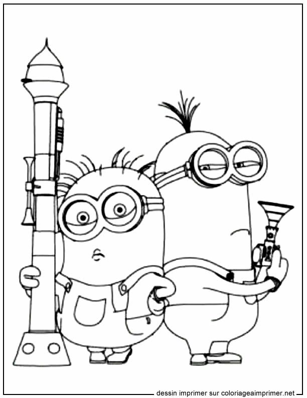 Les Minions #23 | Disney Coloring Pages | Pinterest | Colorear ...