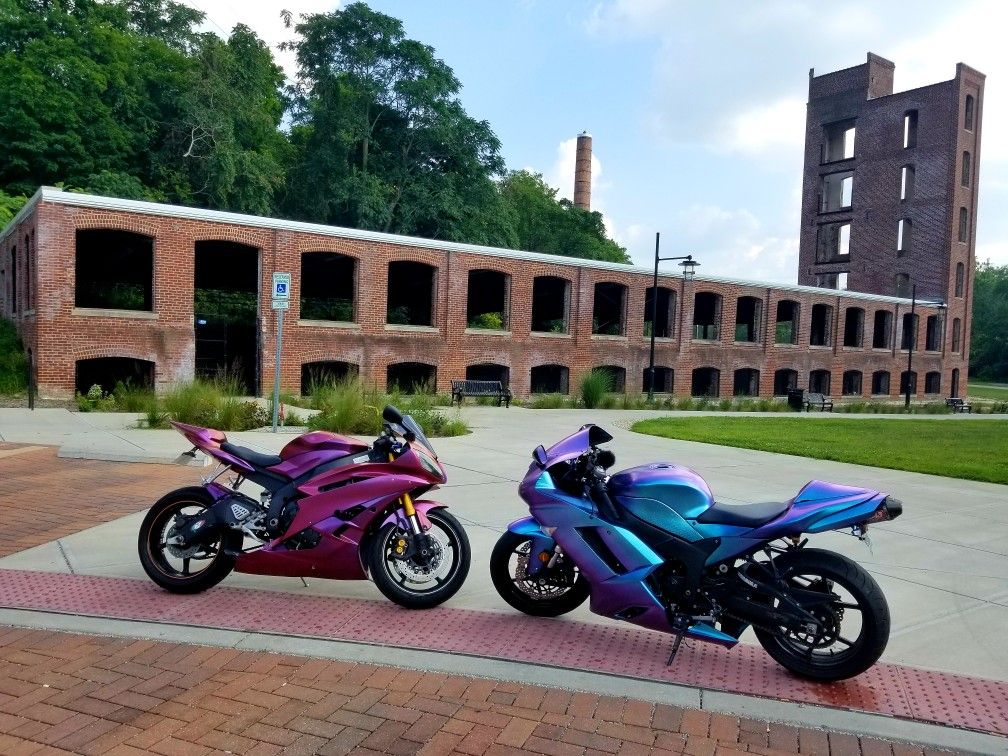 Dipyourcar Plastidip Zx6r R6 Instagram Pretty Little Biker Sports Bikes Motorcycles Futuristic Motorcycle Racing Bikes