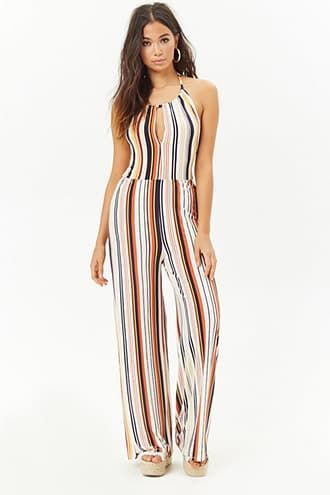 fbf29c32e80 Striped Halter Jumpsuit
