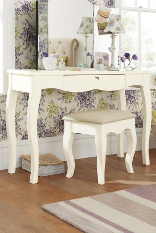 Buy Isabella® Ivory Dressing Table Set From The Next UK Online Shop