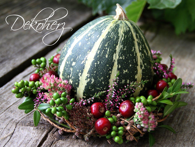 Dekoherz Herbstdeko zum Nulltarif  Herbstdekoration  Pinterest  Herbst Herbst dekoration