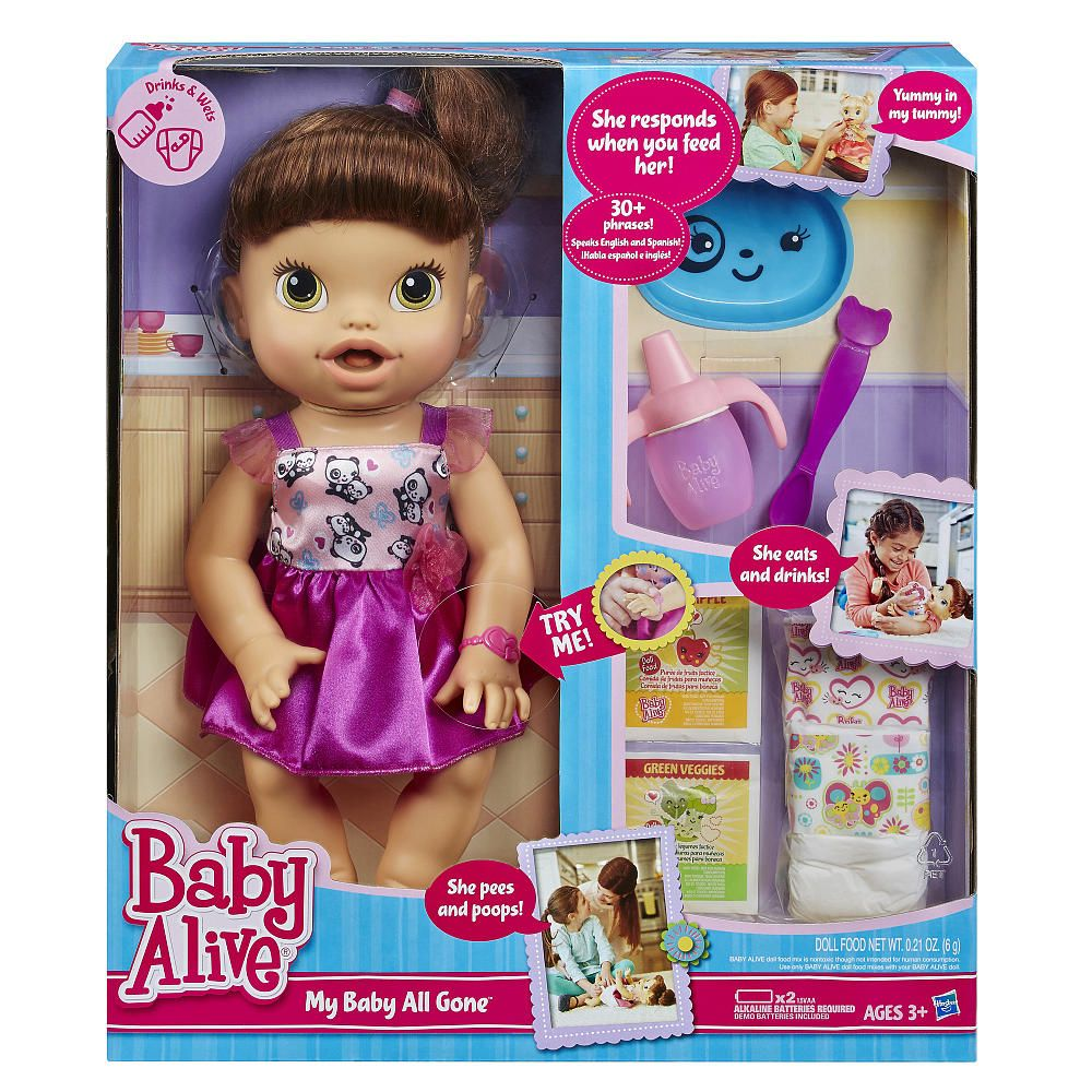 Now your little one can have a baby of her own that she