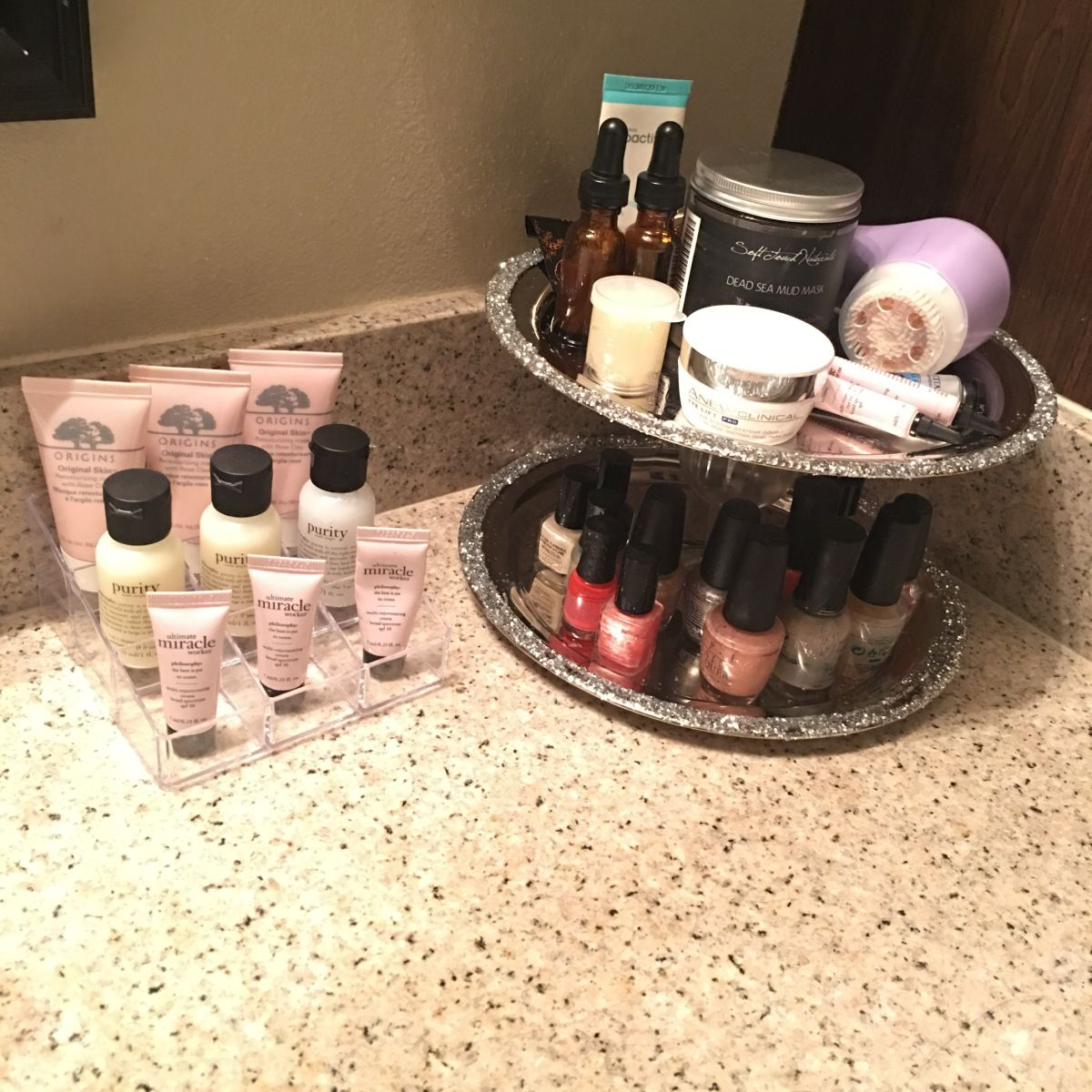 DIY Beauty Stand – Thrifting Nerd