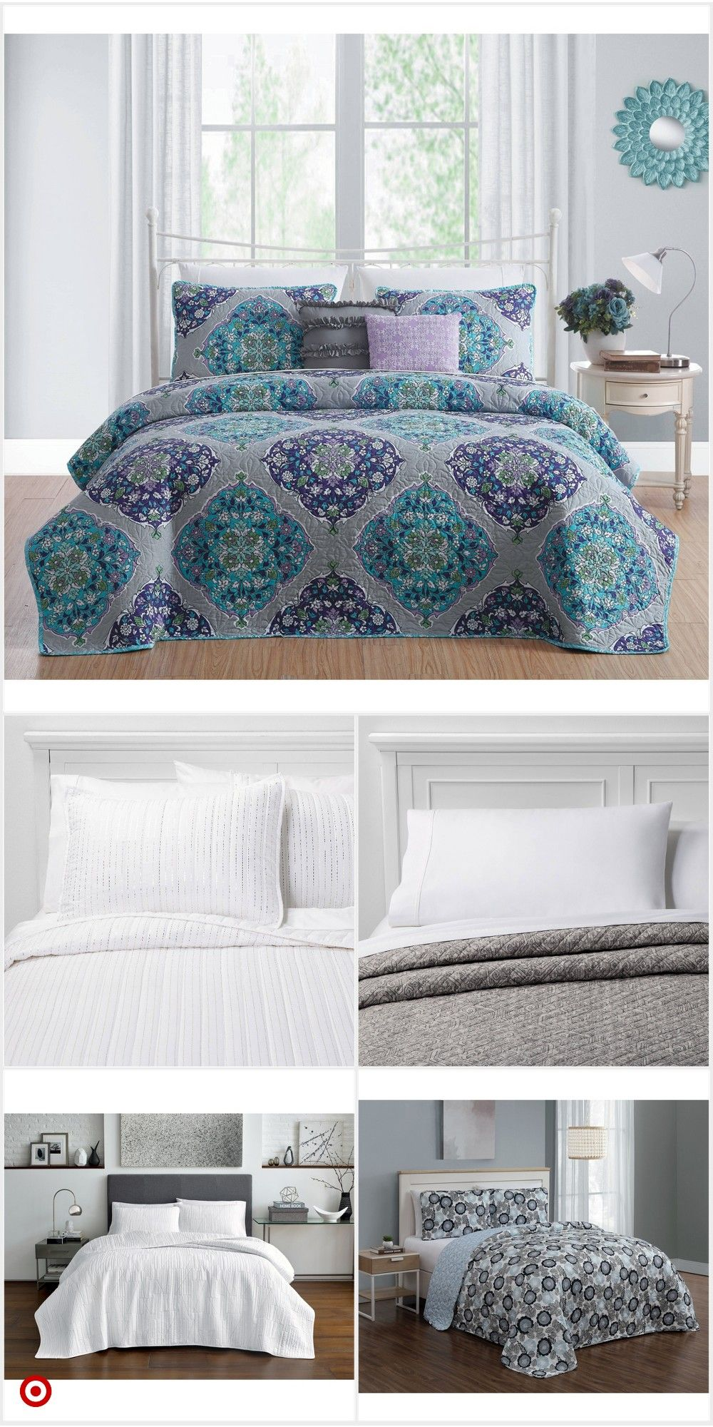 Shop Target For Quilt You Will Love At Great Low Prices Free Shipping On Orders Of 35 Or Free Same Day Coverlet Set Quilt Sets Bedding Comforter Duvet Cover