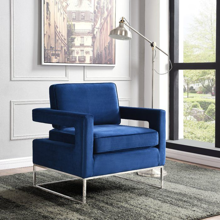 Canterbury Armchair Accent Chairs Velvet Accent Chair