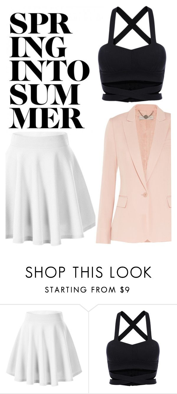 """Summer with Pink"" by mikijxx ❤ liked on Polyvore featuring STELLA McCARTNEY"