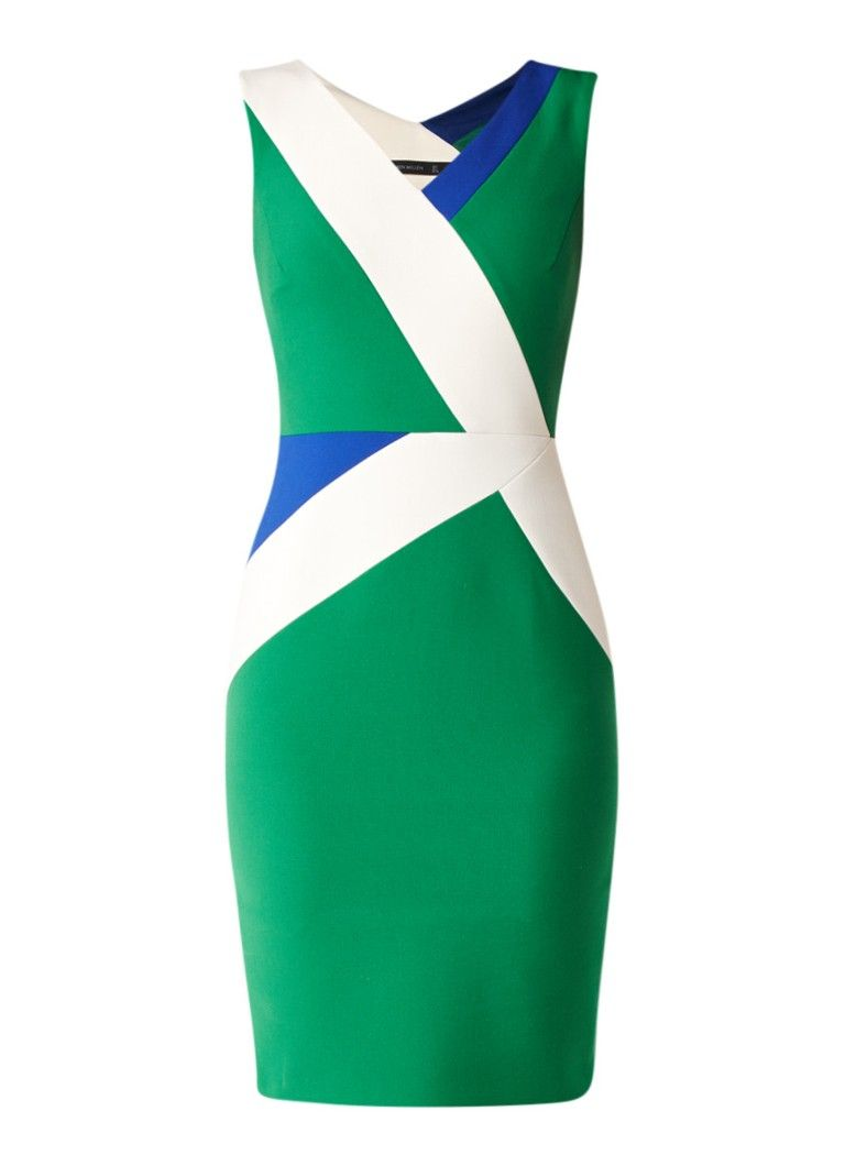 Op zoek naar Karen Millen Mouwloze kokerjurk met color blocking ? Ma t/m za voor 22.00 uur besteld, morgen in huis door PostNL.Gratis retourneren.