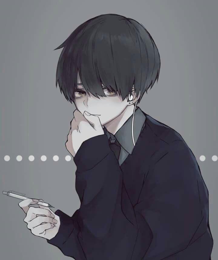 art by 望宮 かわいい男の子のアニメキャラ 美的アニメ イラスト 病み