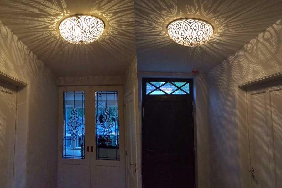 Hal lamp plafonnière Warda - Arabische lampen - voorbeelden ...