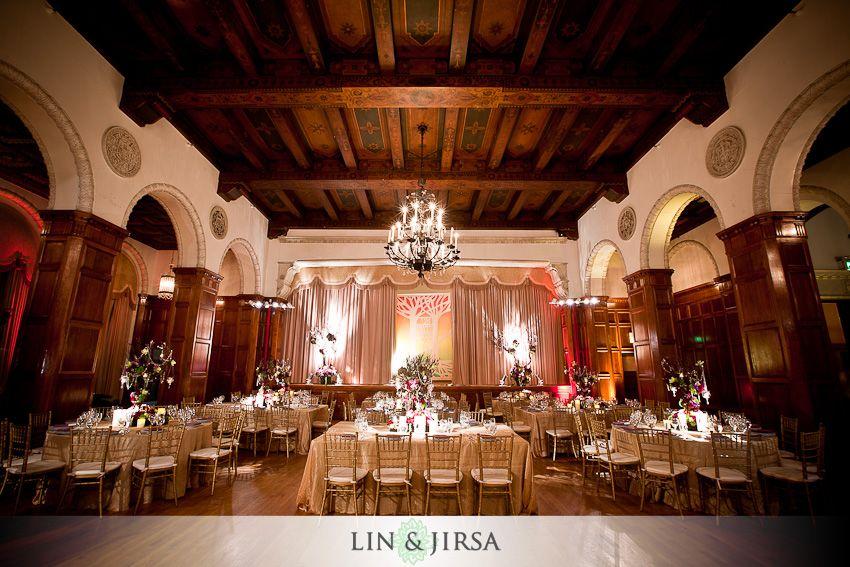 Park Plaza Wedding Los Angeles Jimmy Rachel