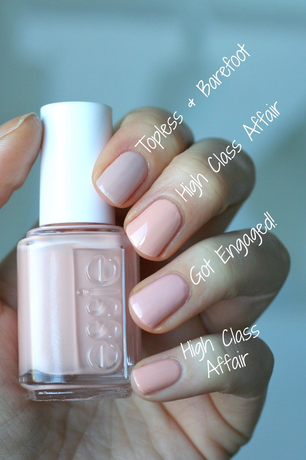 Essie Spring 2016 Lounge Lover Comparisons Essie Envy